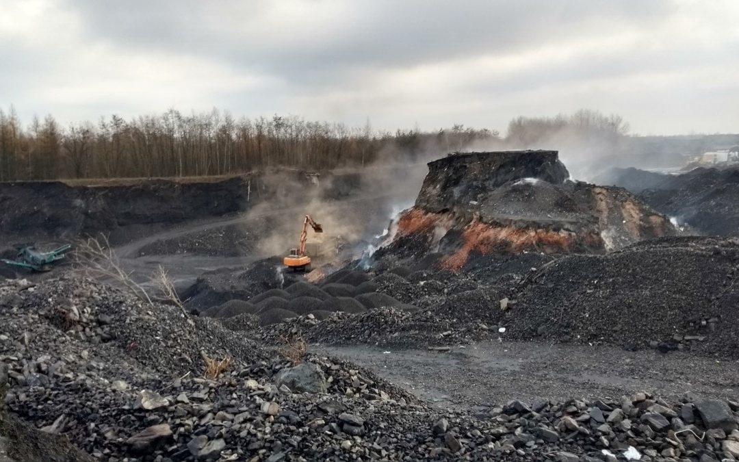Słów kilka natemat samoistnych pożarów naskładowiskach odpadów górniczych